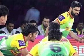 pro kabaddi league  dabangg delhi beat patna 43 39
