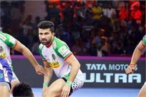 pro kabaddi league  haryana defeated patna 39 34