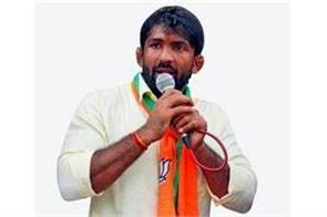wrestler yogeshwar dutt re enters political arena  ticket given by bjp