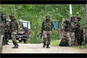 encounter between militants and security forces continues in budgam