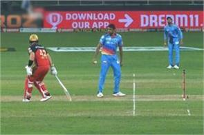 after leaving the crease  ashwin showed finch the fear of mankind