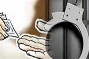bribery patwari arrested