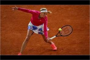 kvitova in the quarterfinals of the french open