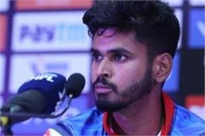 shreyas iyer said   i was nervous in the last over  didn  t know what to say