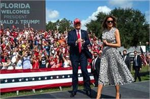voting for trump means voting for a better america melania told rally