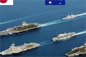australia  malabar naval war exercise
