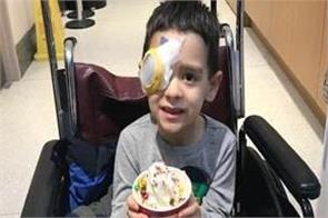 gene therapy 8 year old canadian boy sight
