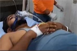 gun firing boy injured hoshiarpur