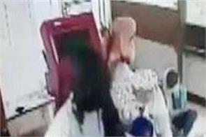 haryana crooks bank robbery cctv video