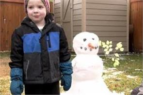 first snowfall  calgarians get early taste of winter weather