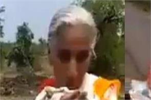 vaishno devi woman bicycle travel social media video viral