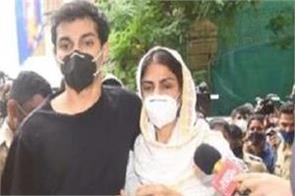 rhea chakraborty and showik chakraborty judicial custody extended