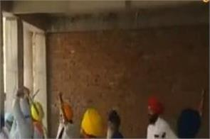 amritsar shiromani committee respect committees clash
