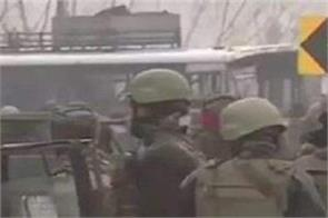 four terrorists killed in pulwama  one arrested
