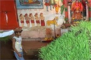 rajasthan  kota village make ravana soil on dussehra