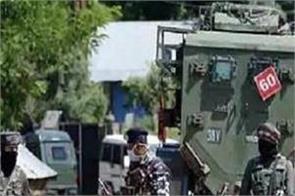 j k budgam terrorists security forces firing terrorists arrested