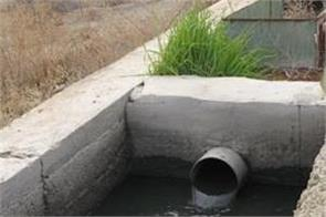 industry sewerage breaks down to find black water