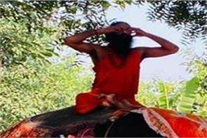 baba ramdev elephant yoga video viral