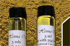beauty tips  white hair  black  henna oil  use