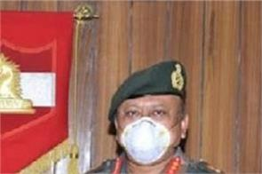 lieutenant general mv suchindra kumar jammu 16th corps took command