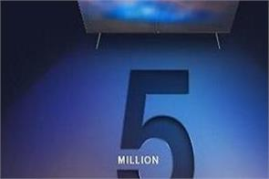 mi india sells over 50 lakh smart tvs in india