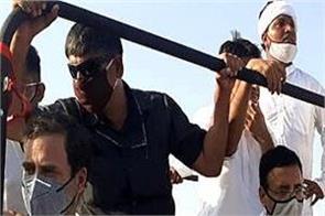 rahul gandhi allowed to enter the haryana kheti bachao yatra