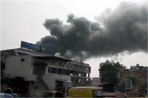 fire in chemical factory located in ahmedabad