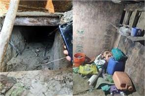 let underground base in awantipora exposed weapons recovered