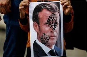 outraged by macron s statement muslim countries boycott french products
