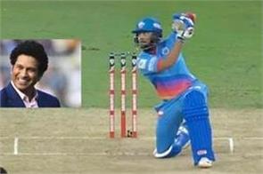sachin praised prithvi shaw  s   down shot    tweet warns kohli