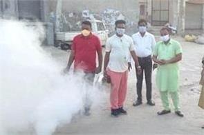 fogging in wards 16 and 17 to prevent dengue