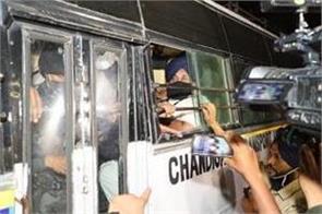 chandigarh police arrest sukhbir badal