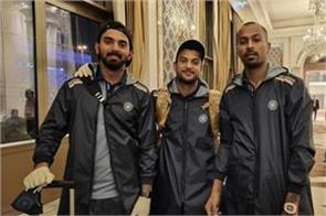 indian cricket team leaves for australia