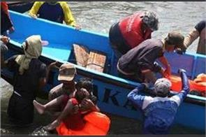 74 migrant submerged un drowned boat near the coast in libya