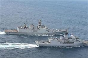 malabar naval exercise begins us japan and australia participating with india