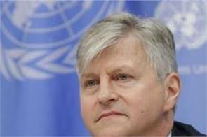 un peacekeeping chief tests positive for covid 19