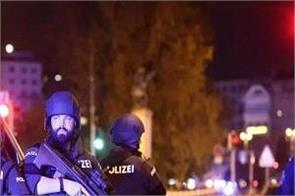 vienna terrorist attack austria shootings