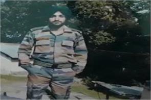army man died