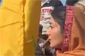 actress sonia mann participated in farmers protest