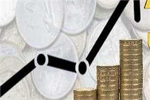 the rupee had gained 24 paise