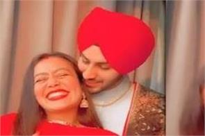 neha kakkar shared lovely video on karva chauth with rohanpreet