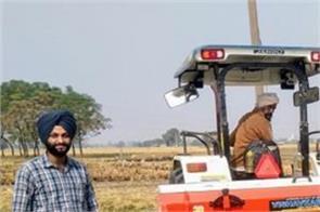 straw agriculture modern technology farmer amarinder singh