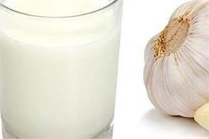 health tips  drinking garlic mixed with milk amazing benefits body