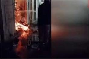 electrical shop  fire