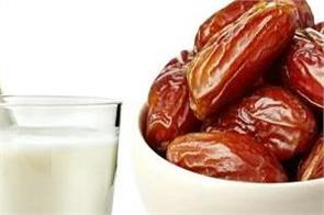drinking date milk night has many benefits for the body