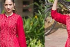 ankita lokhande in red dress internet heart pounding of fans