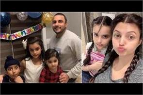 deep dhillon daughter birthday pics