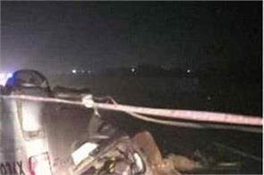 telangana road accident car 6 people death