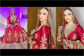 sana khan walima pics viral on internet