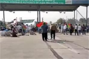 farmers protest in patiala